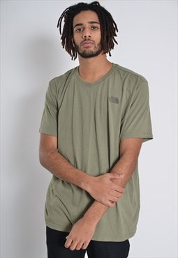 Vintage The North Face Crew Neck T-Shirt Green