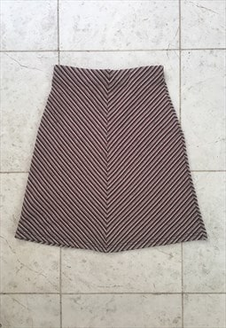 Y2K stretchy mini skirt