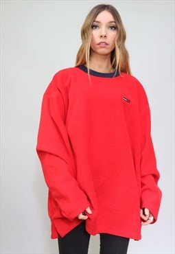 Vintage Retro Oversized Tommy Hilfiger Fleece