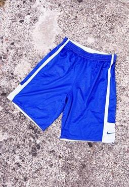 Vintage Nike Shorts Sports Blue Large