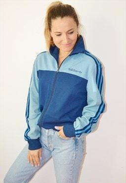 80s ADIDAS Trefoil Vintage Track Jacket / sweatshirt