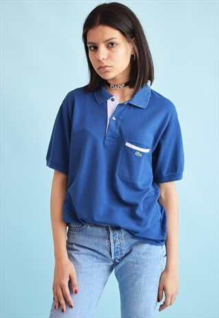 90'S RETRO LACOSTE SPORTS OVERSIZED POLO T-SHIRT TEE