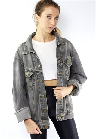 LEE DENIM JACKET LEE JEAN JACKET VINTAGE DENIM JACKET
