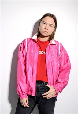 FILA 80s vintage pink windbreaker
