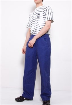 Vintage 90s Levi's Blue Workwear Trousers ID:7101