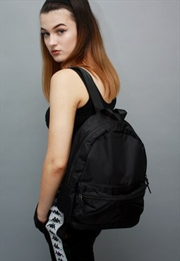 Mini Backpack Rucksack in Black