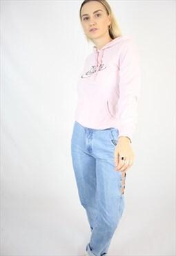 Vintage 90s Nike Baby Pastel Pink Pullover Hoodie