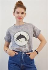 Vintage Dolphin Tshirt