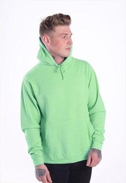 Essential Blank Pullover Hoody - Apple Green
