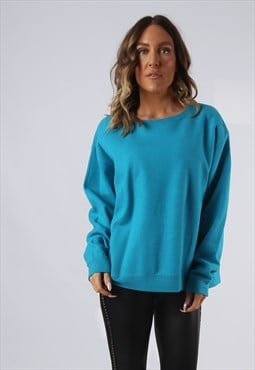 Sweatshirt Jumper Oversized PLAIN Coloured UK 16 (KI5C)