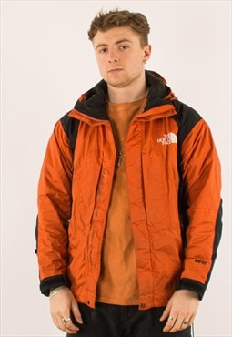 Vintage Orange North Face Goretex Mountain Jacket Coat M