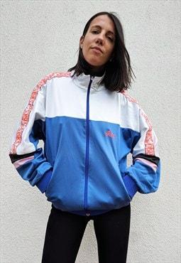 Vintage Asics zip up track Jacket