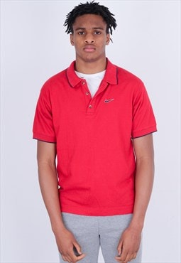 Vintage Red Nike polo T shirt