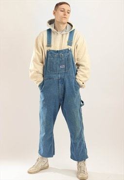 Vintage Big Smith Denim Dungaress Blue