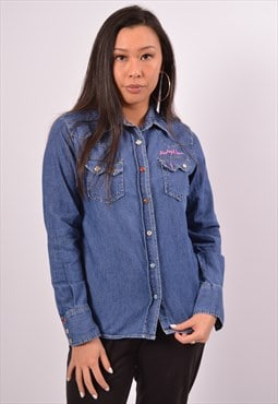 Vintage Replay Denim Shirt Blue
