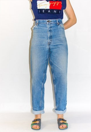 80'S SUPER HIGH WAIST  LEVI'S MOM JEANS
