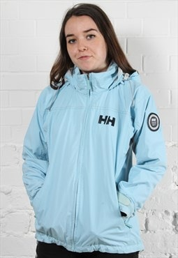 Vintage Helly Hansen Windbreaker Jacket in Blue w/ Logo