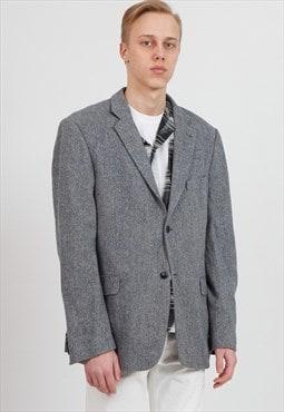 Vintage Grey MARCO MANZINI Blazer Jacket