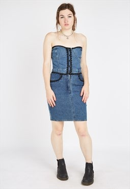 Vintage Moschino Denim Dress