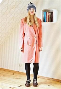 Salmon pink vintage jacket