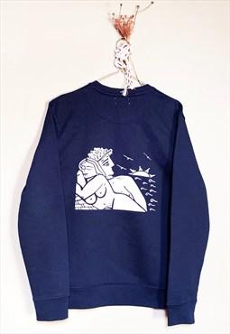 soulmates handprinted - sweatshirt