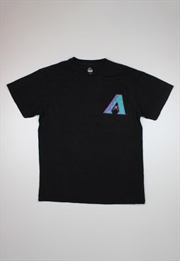 Majestic MLB 'A' Black T-shirt