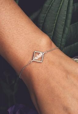 NIKA. Ethiopian Opal Bracelet in Silver