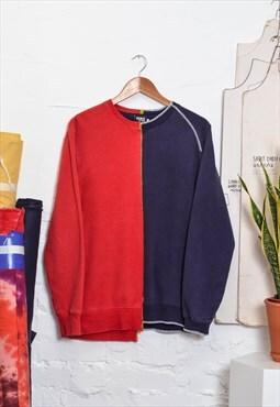 Split Half and Half Sweatshirt