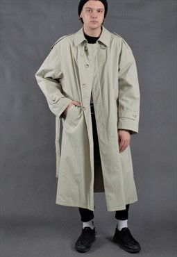 Vintage mens trench coat