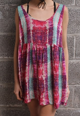 MULTICOLOURED DRESS