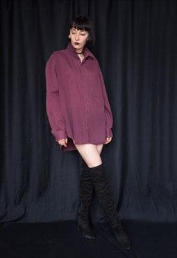 VINTAGE Purple Unisex Classic Shirt