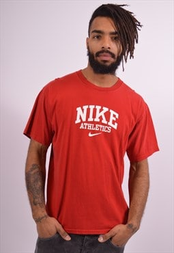 Nike Mens Vintage T-Shirt Top Medium Red 90s