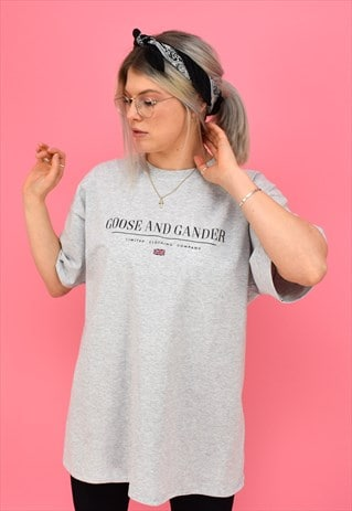 G&G UNISEX HEATHER GREY LTD S/S TEE