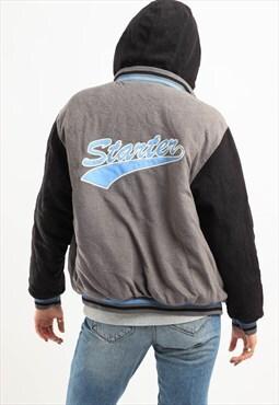 Vintage Starter Reversible Jacket Grey