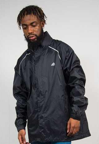 ADIDAS WATERPROOF CAGOULE RAIN JACKET