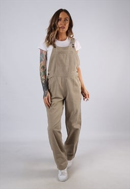 Vintage WOOLRICH Canvas Cotton Dungarees UK 10 Small (C3L)