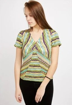 Vintage Multi-coloured Missoni Top