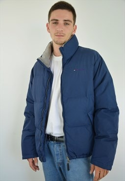Classic Tommy Hilfiger Blue Winter Puffer Jacket