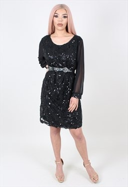 Vintage Sequin Dress ASM3575