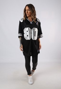 Vintage Oversized T-Shirt Football Jersey Top XL (JA5Q)