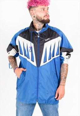 Vintage 80s Windbreaker Jacket / S2672