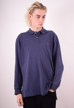 Polo Ralph Lauren Mens Vintage Polo Shirt Large 90s
