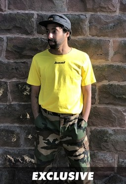 EXCLUSIVE  BAAD T-shirt Neo Classic yellow