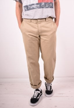 Dickies Mens Vintage Trousers W36 L33 Brown 90s