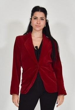 Yves saint laurent jacket bordeaux