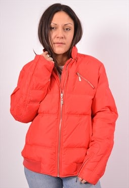 Vintage Versace Padded Jacket Red