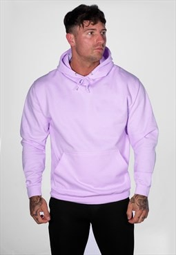 Supreme Plain Blank Staple Hoody - Lilac Lavender Purple