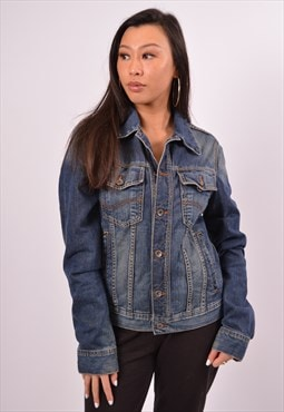 Vintage Tommy Hilfiger Denim Jacket Blue