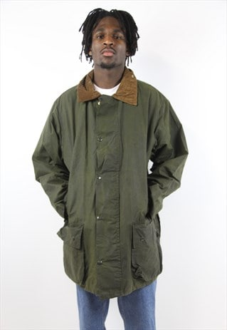 VINTAGE KHAKI WAX JACKET