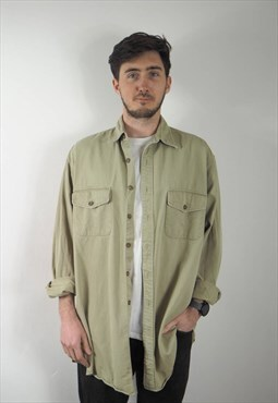 Vintage Sand Cotton Shirt
